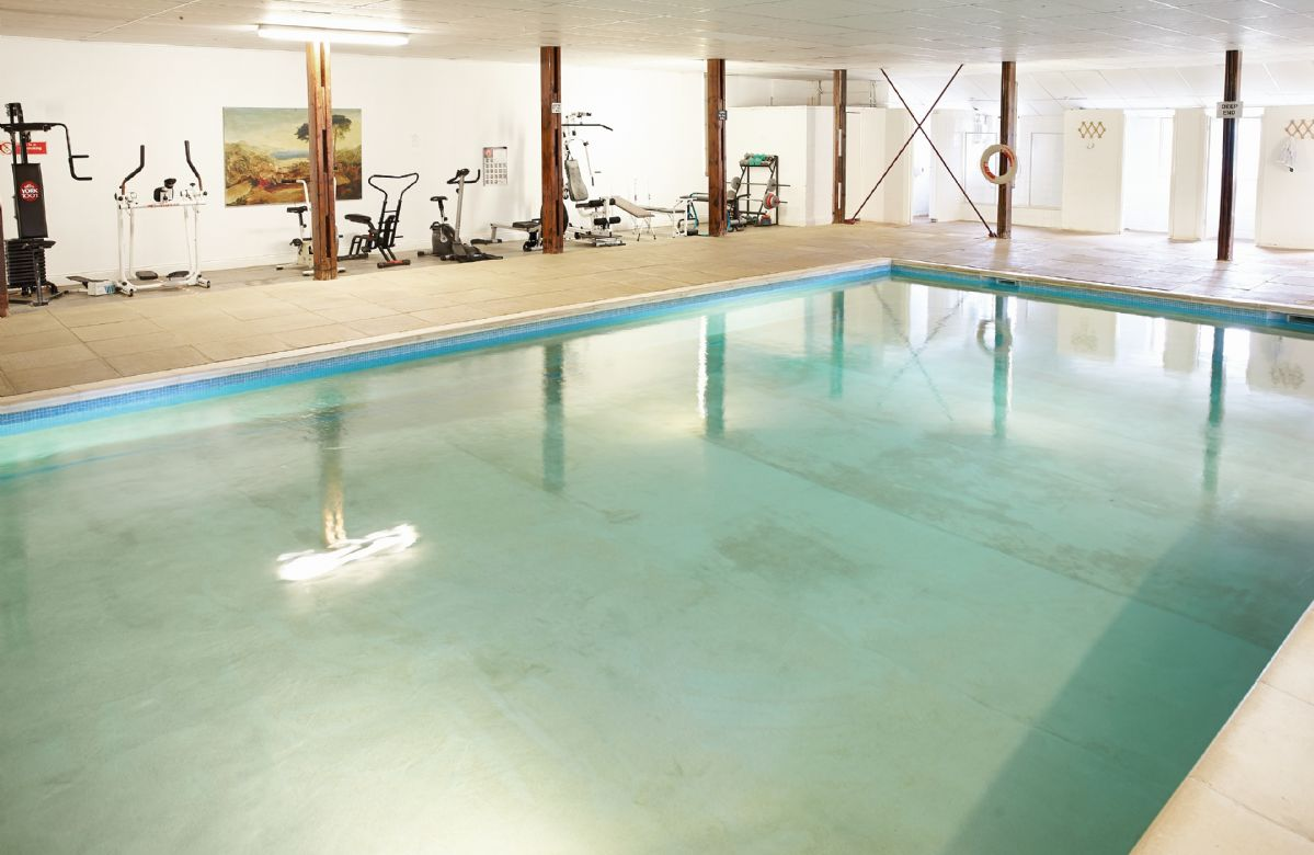 Clients have use of the facilities at Sherbourne House, including the indoor heated swimming pool pictured below