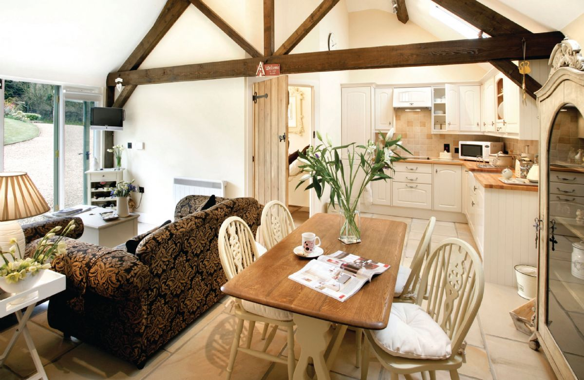 Ground floor: Open plan sitting, dining and kitchen area
