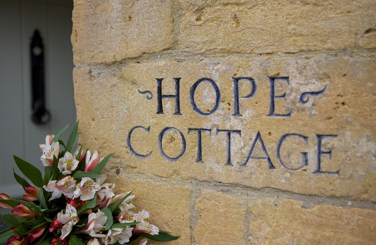 Hope Cottage, a traditional Cotswold stone semi-detached property