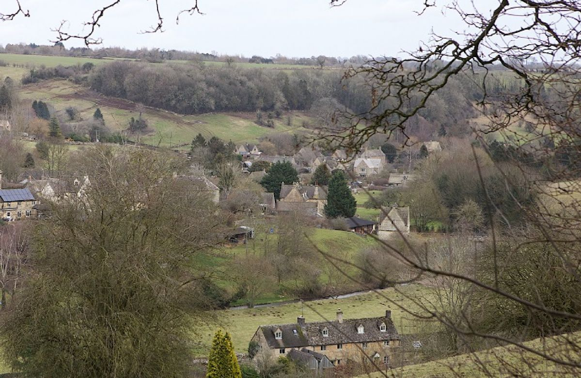 The picturesque village of Naunton