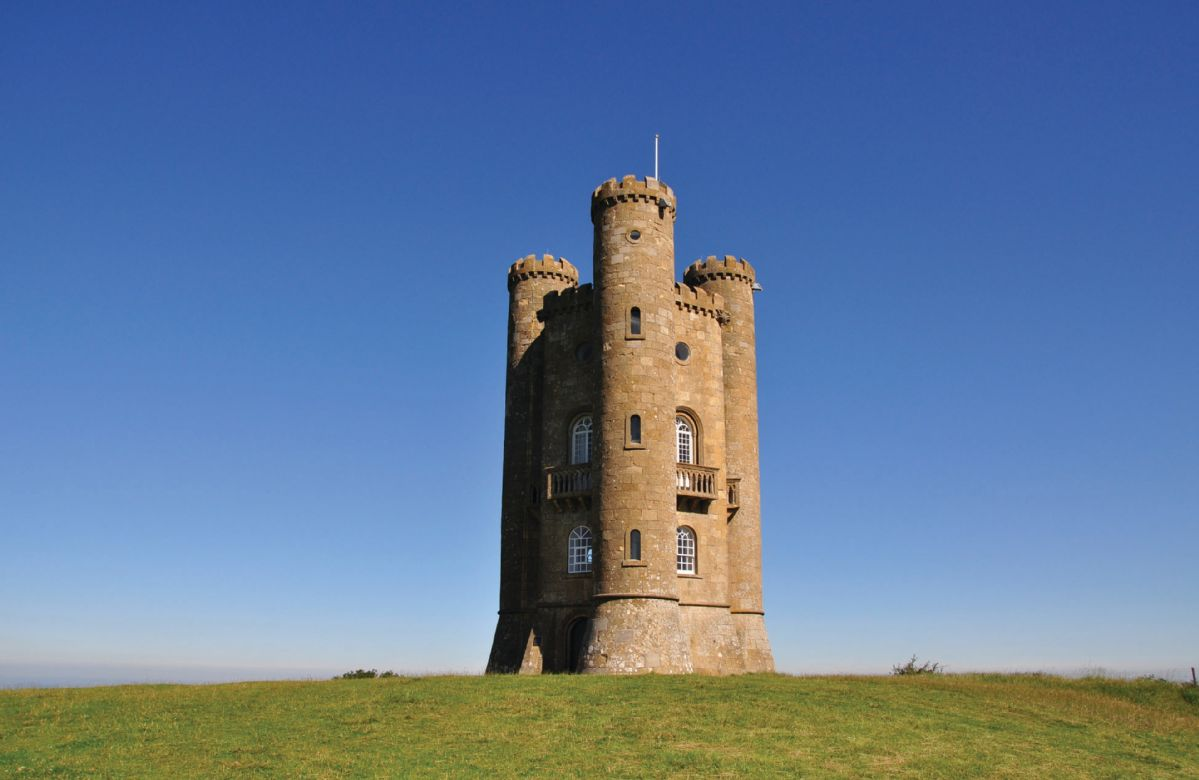 Broadway Tower can be reached within 10 minutes