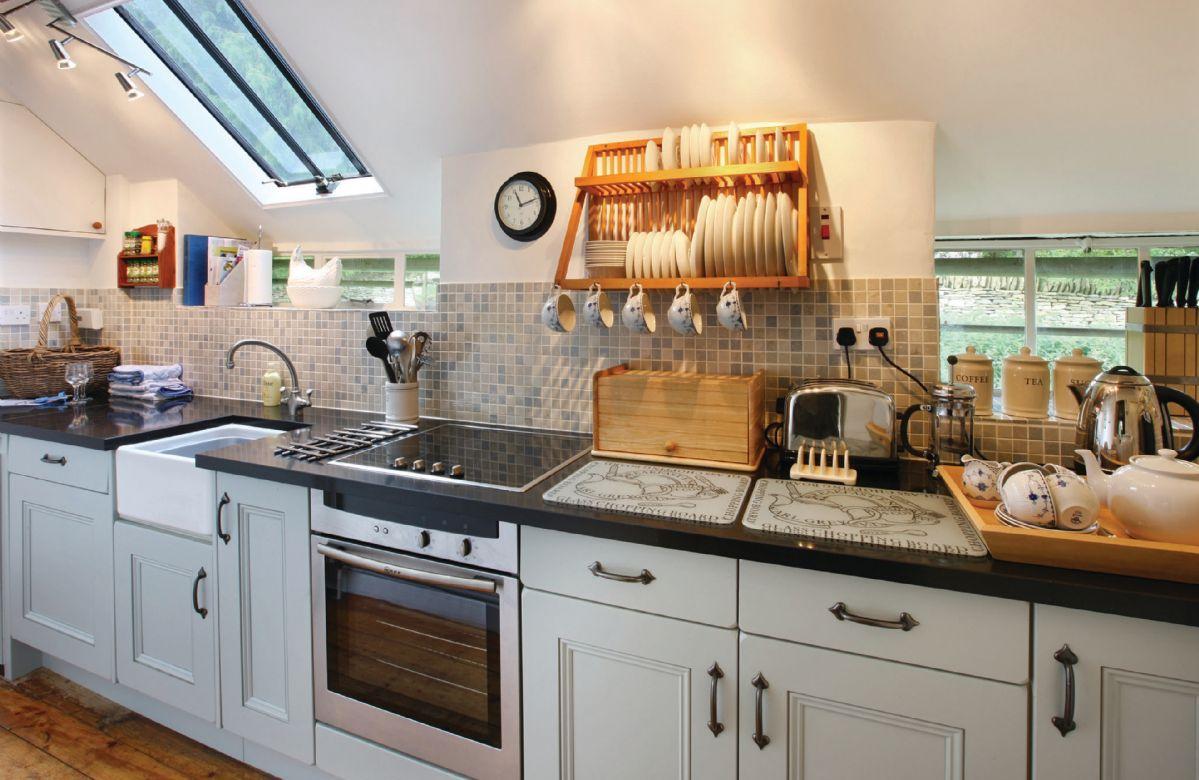 Ground floor: Galley kitchen
