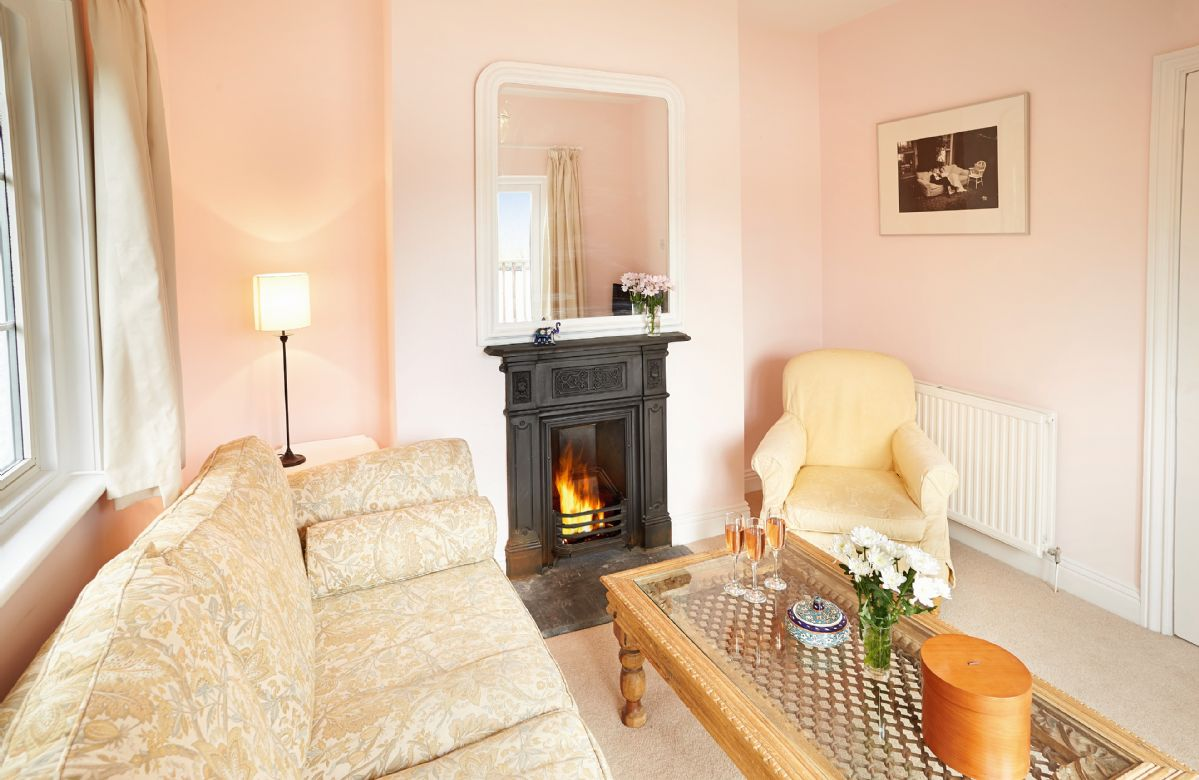 Ground floor: Sitting room (please note this is not a working fireplace)