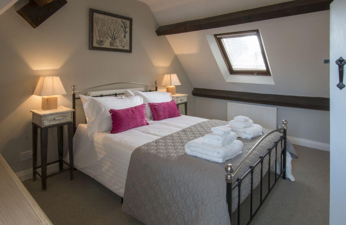 Second floor: Second double bedroom