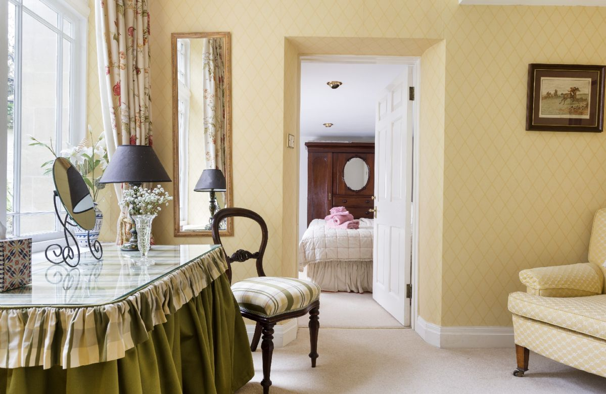 Lower ground floor:  Dressing room/study (linked to twin room from double bedroom)