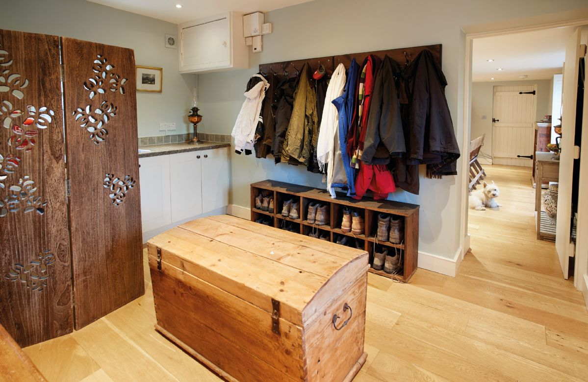 Ground floor: The boot room is an excellent facility for tired walkers coming in off the fells
