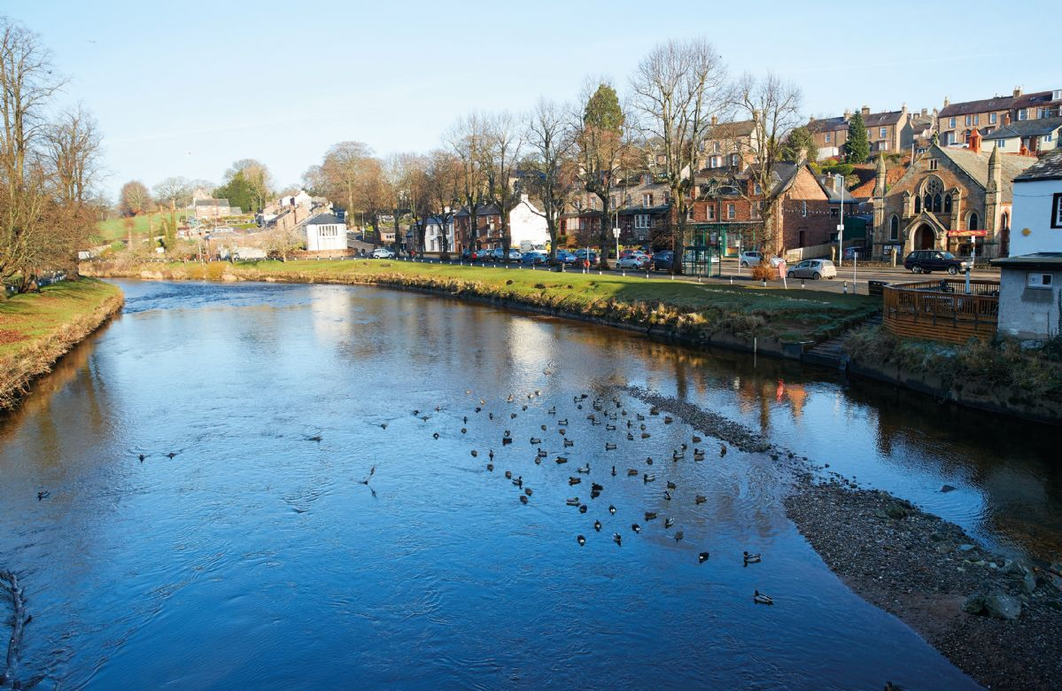 Nearby is the pretty market town of Appleby-in-Westmorland
