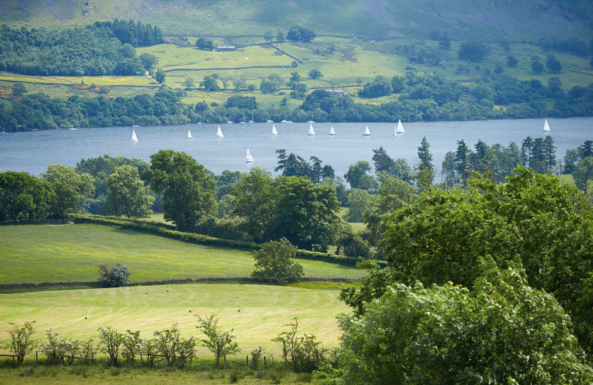 Views to Lake Ullswater from the property