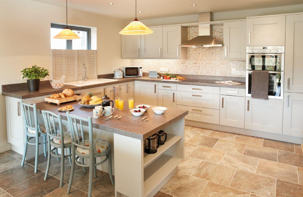 Ground floor: Open plan kitchen and sitting room