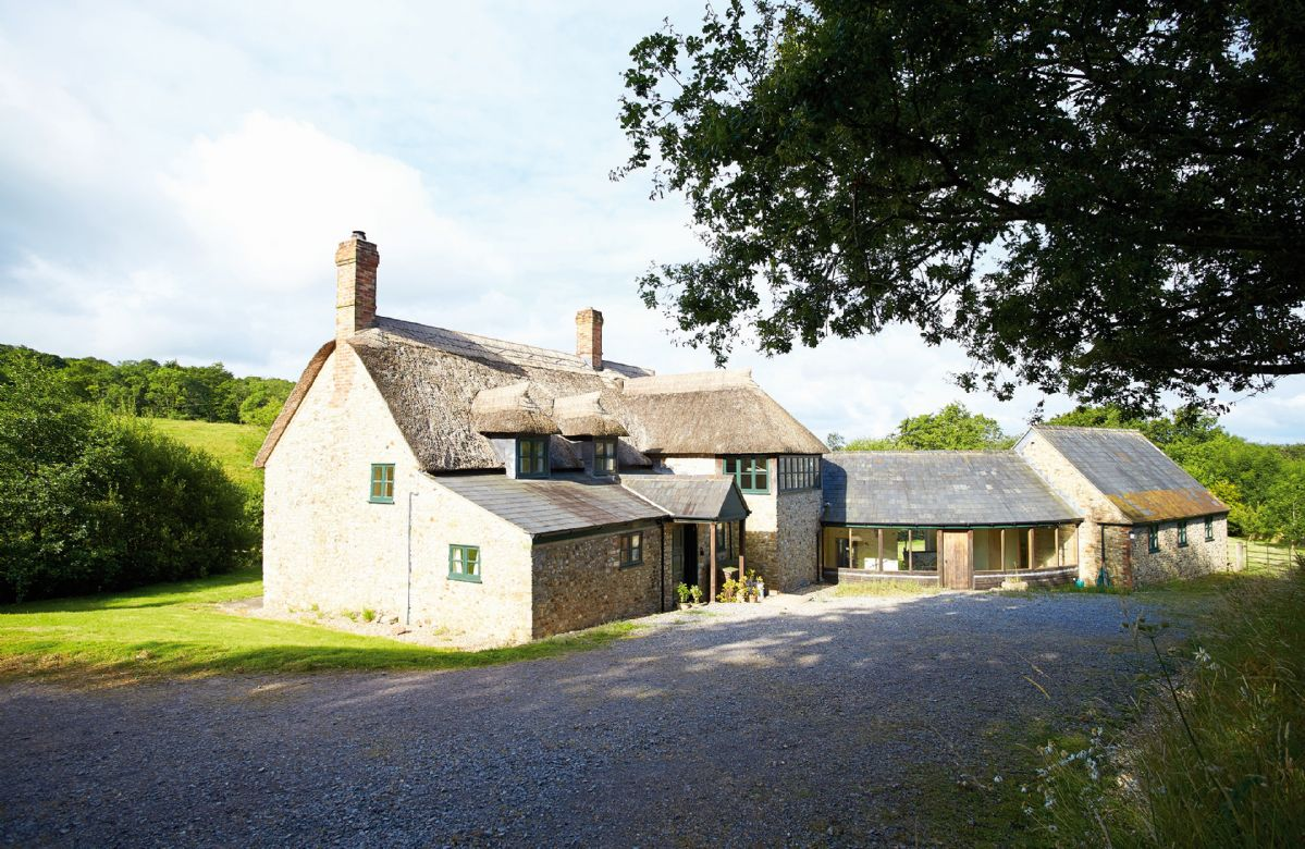 Chubbs Farm is a detached, thatched, former farm set in a very quiet, rural position, two miles from Axminster