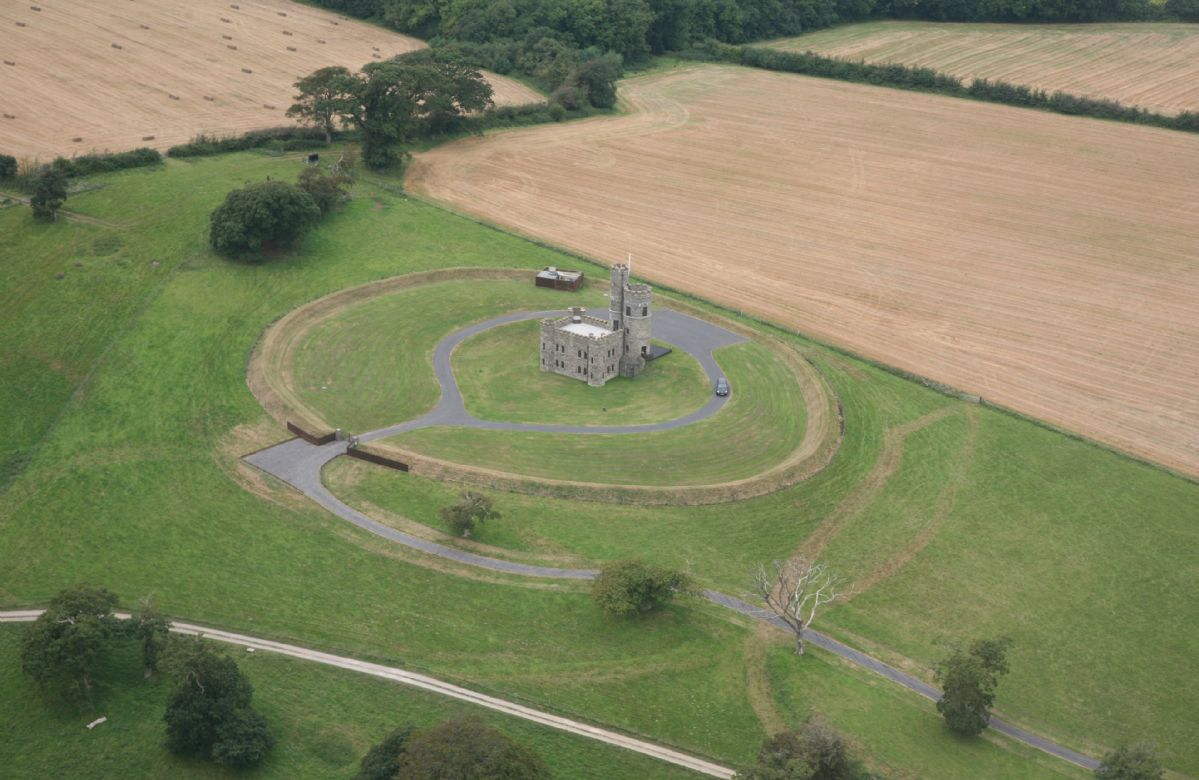 Tawstock Castle stands in approximately eight acres of its own parkland