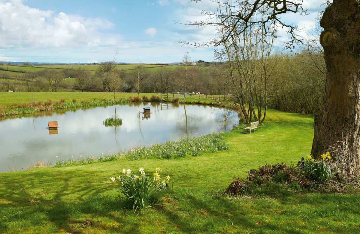 Enjoy the tranquillity of your own private lake