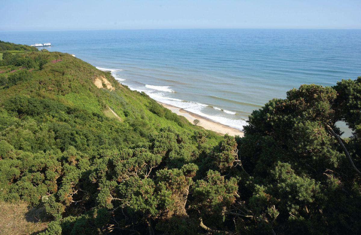 Take a stroll along the stunning coastline