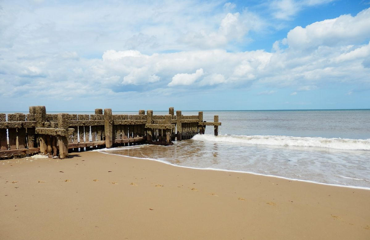 Trimingham beach is just a 6 minutes drive away