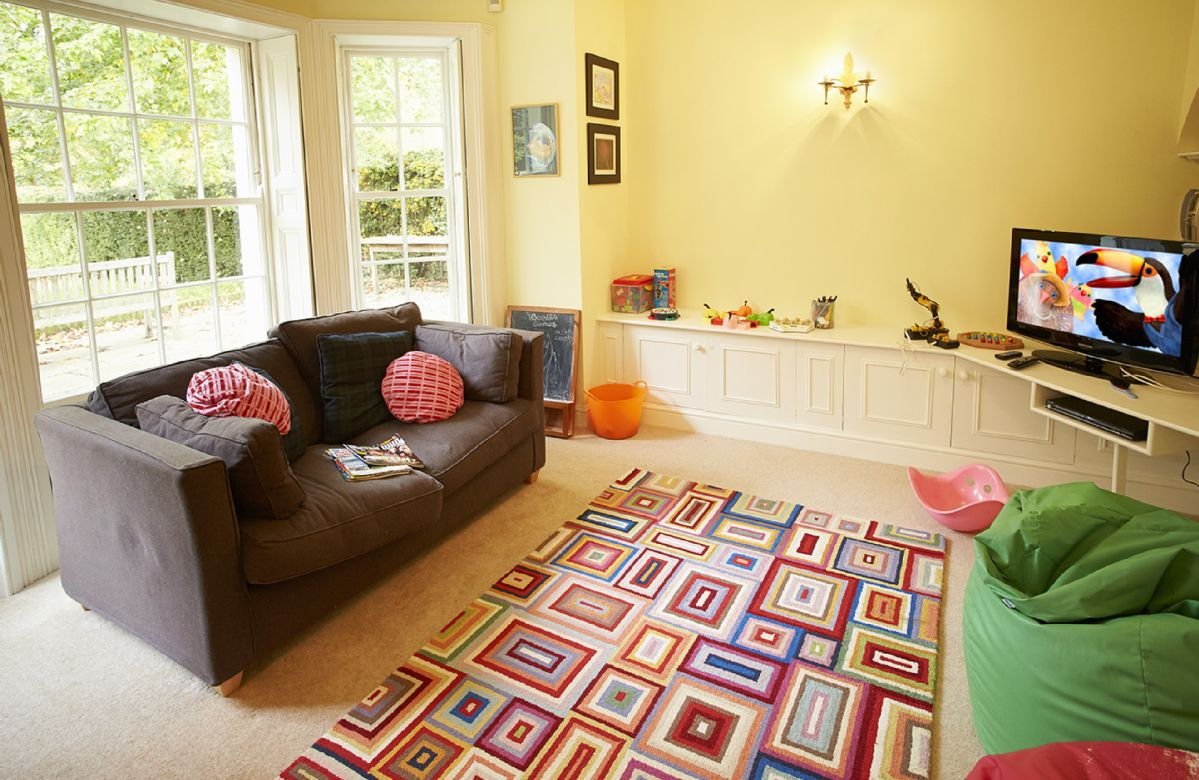 Ground floor:  Playroom