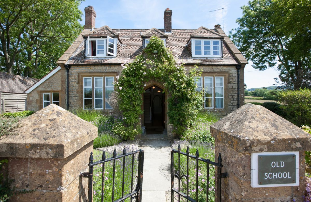 The Old School, a charming stone and tiled holiday country cottage which used to be the village school