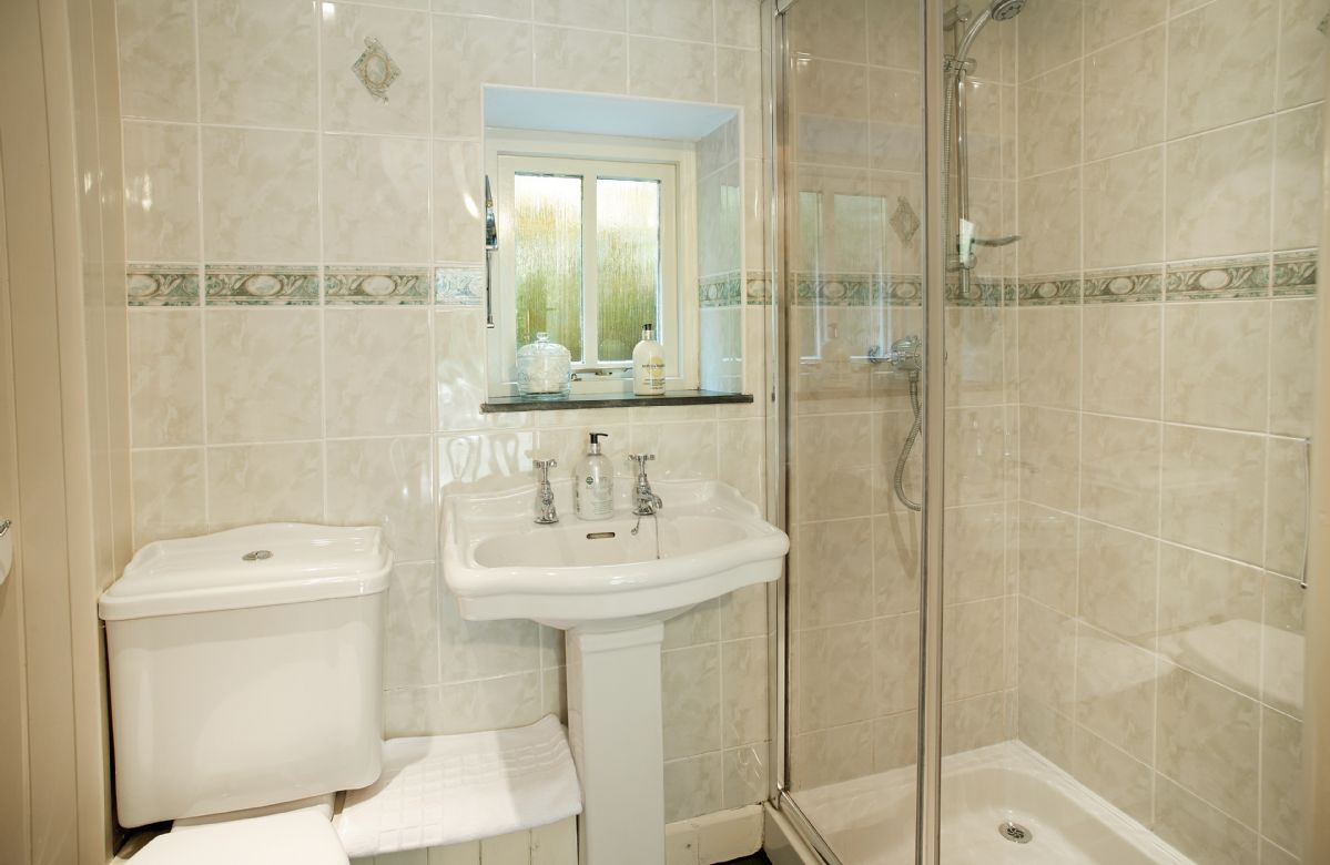 Ground floor: Shower room