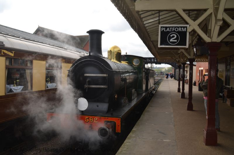 Large Image - Horsted Keynes Station on The Bluebell Railway
