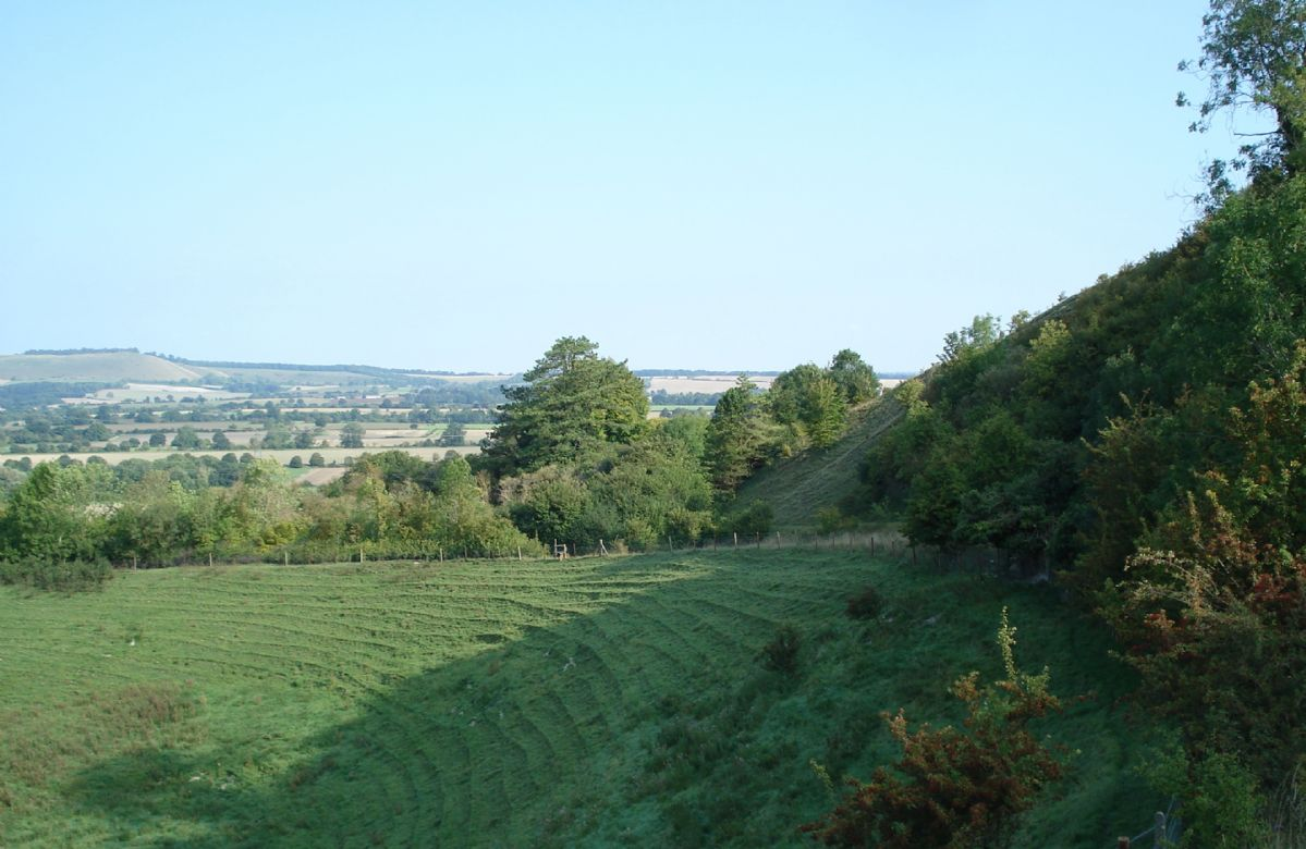 The Vale of Pewsey, well known for its natural beauty