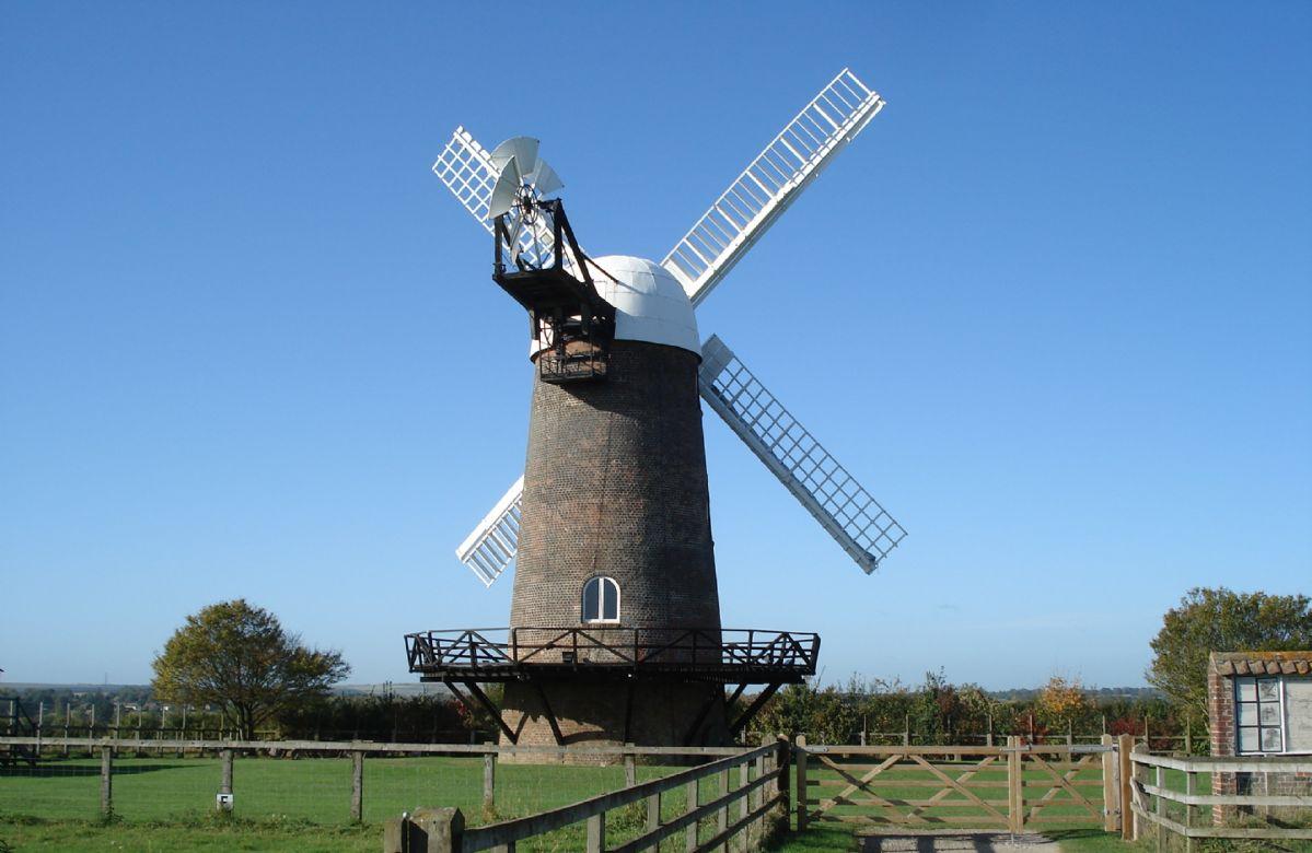 Wilton Windmill at Wilton just 4 miles away