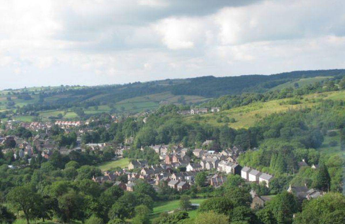 The nearest town of Wirksworth