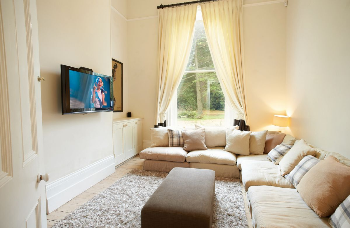 Ground floor: TV snug with wall mounted 42inch television