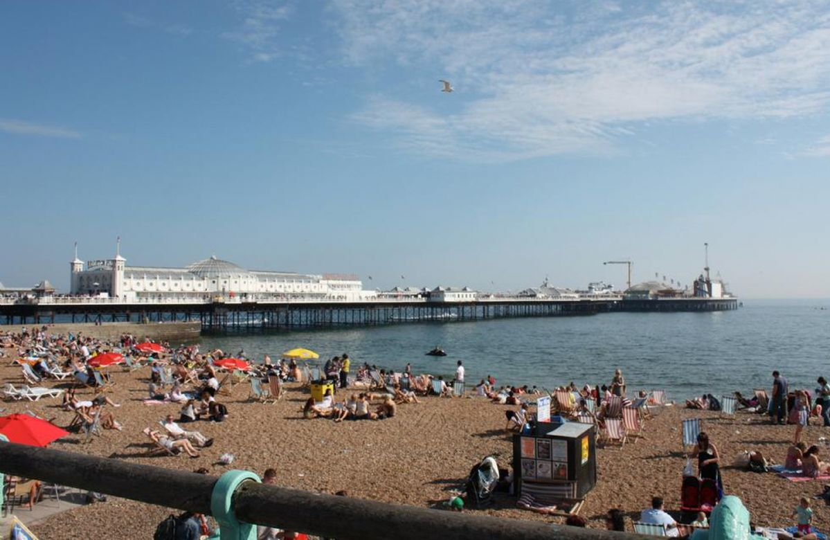 Brighton with its many popular attractions