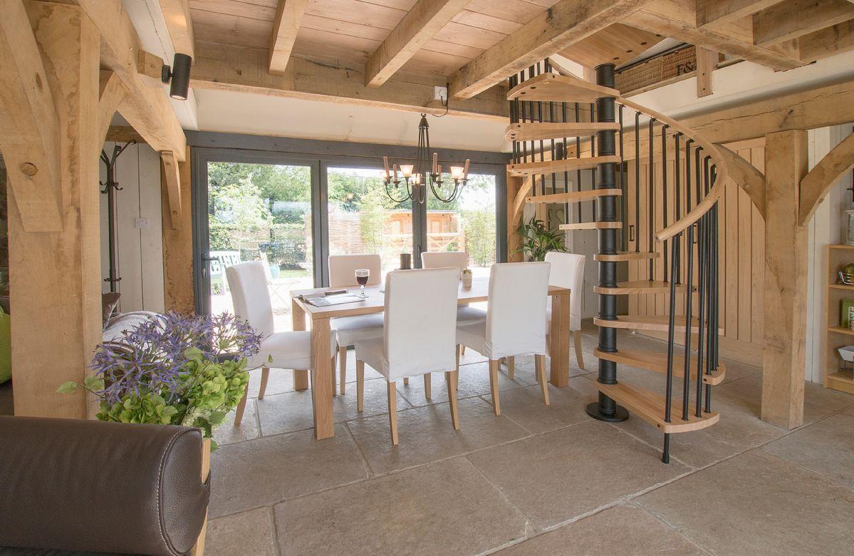 Ground floor: Open plan dining room