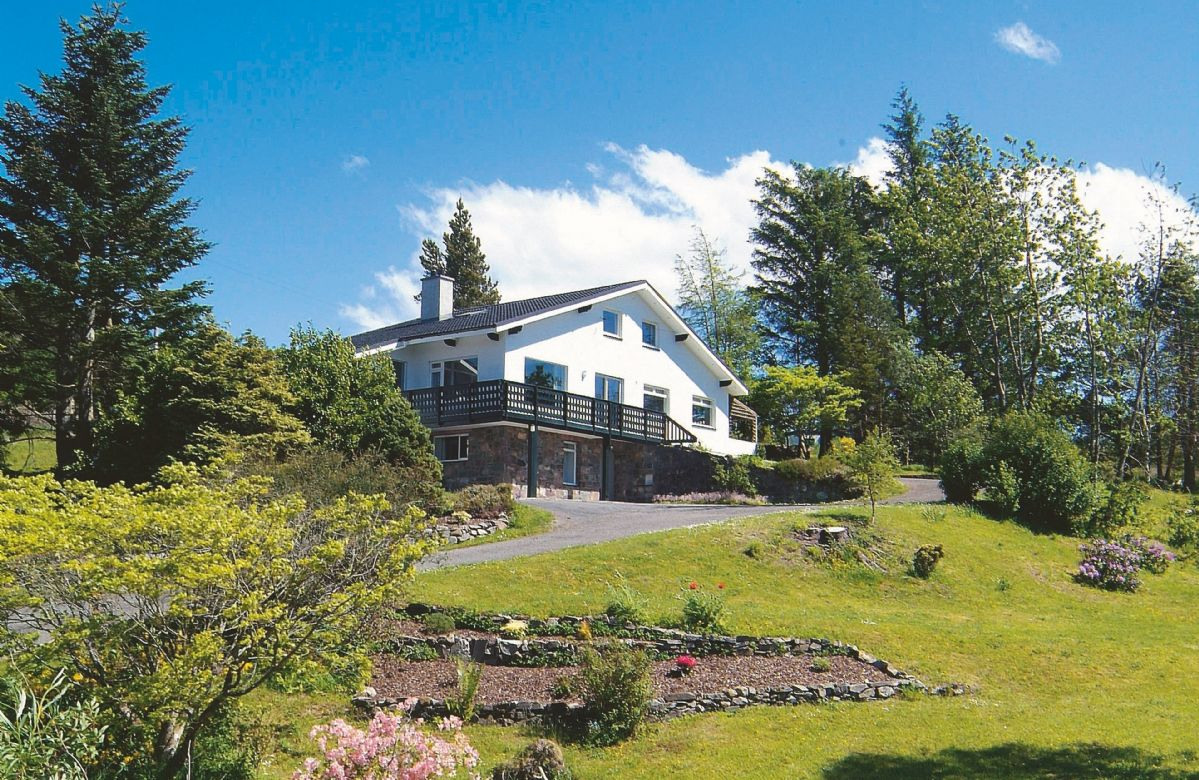Achnandarach Lodge, Scottish Highlands, Scotland