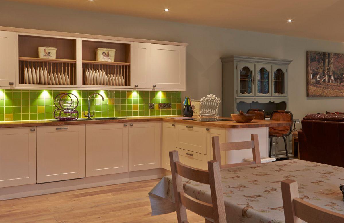 Ground floor: Open plan kitchen diner with sitting room