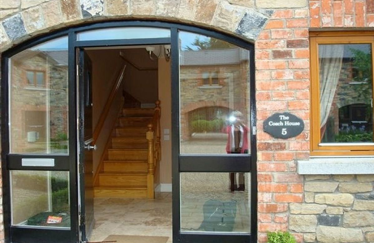 Entrance to The Coach House