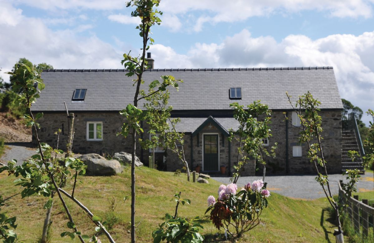 Ty Cerrig is one of seven luxury self catering cottages on The Bodnant Estate near Conwy in North Wales