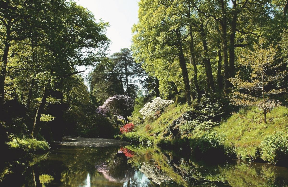 The beautiful Bodnant Gardens