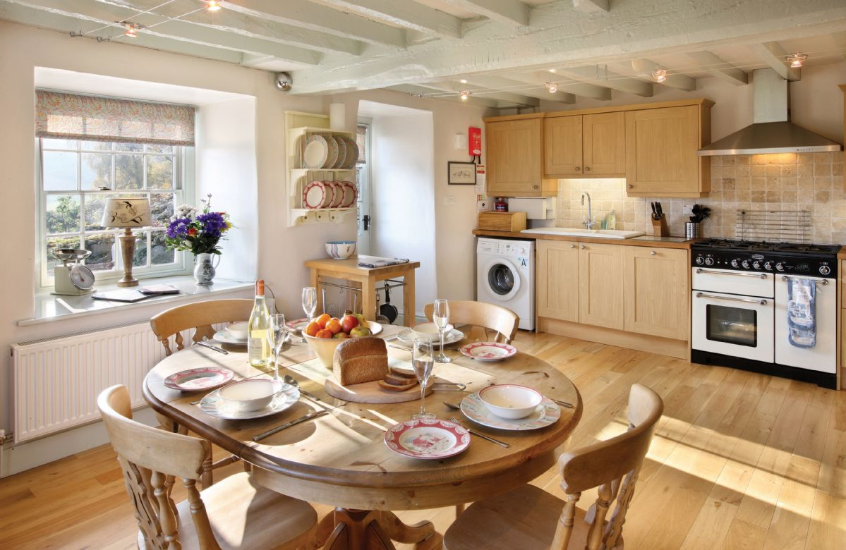 Ground floor:  Spacious kitchen/dining room