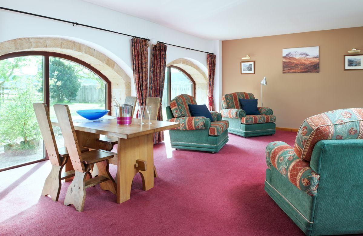 Ground floor: comfortable sitting/dining area