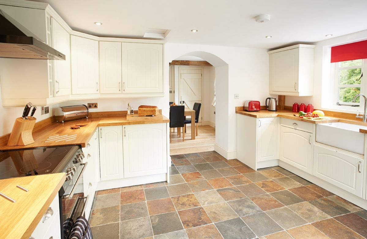 Ground floor: large open kitchen