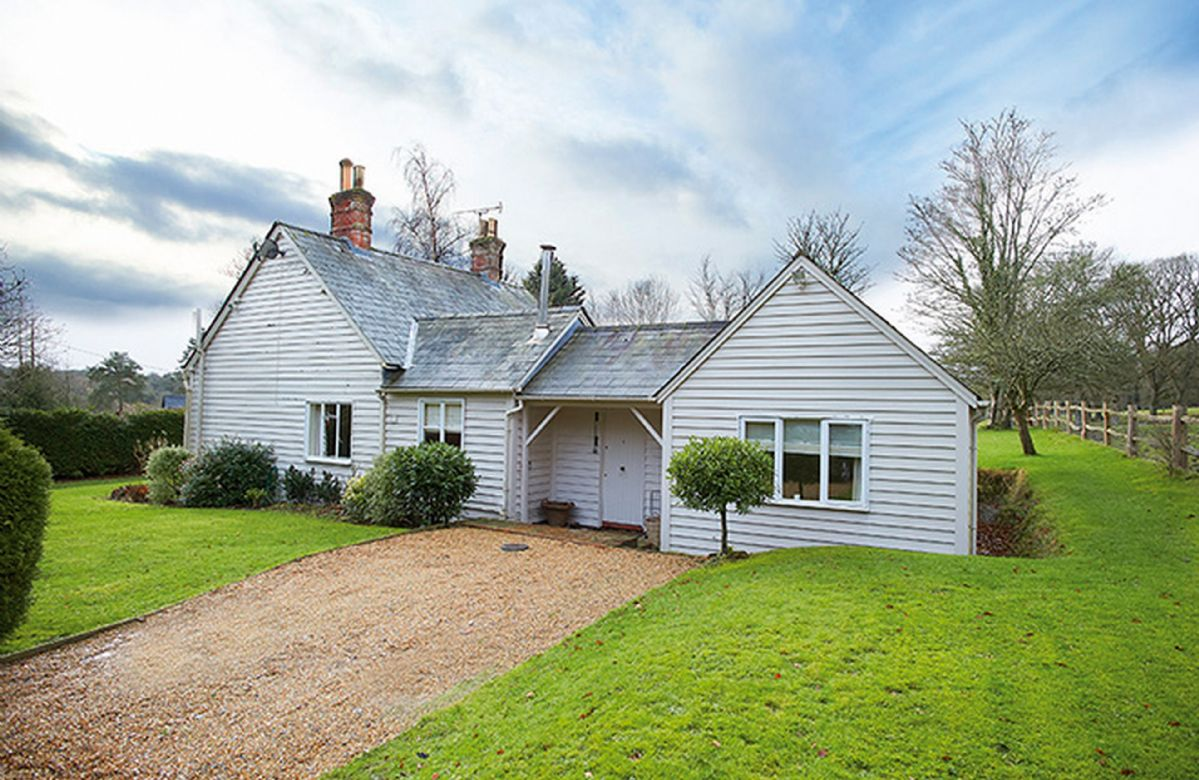 Oak Tree Cottage with ground floor accommodation, set in a delightful spot approached by a short narrow track