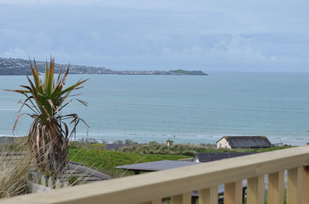 View from the balcony looking at St Ives