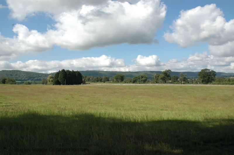 Large Image - The views south to Duncton and the South Downs