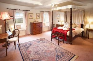 Second floor: The Victorian bedroom with en-suite bathroom