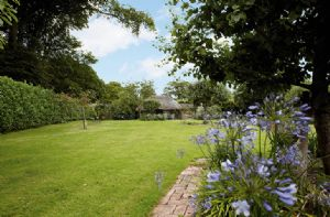 Bonython Estate Gardens comprise some 20 acres with a recently renovated walled garden, potager and a hidden valley with three small lakes