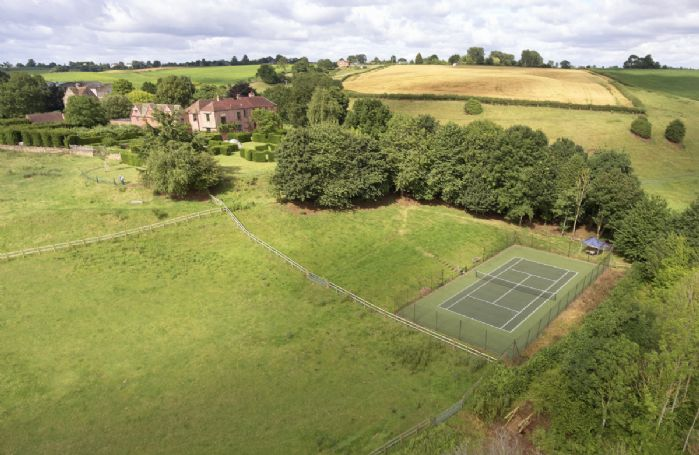 Guests staying at The Dovecote are welcome to use the hard surface tennis court in the grounds of Pauntley Court