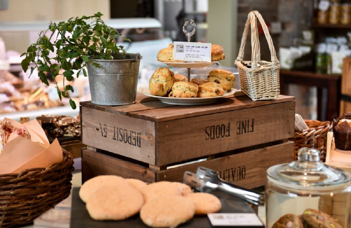 The Granary Deli, with cafe style seating and coffee snug enables customers to enjoy a relaxed breakfast, catch up with friends or colleagues over barista served coffee or tuck into a range of light snacks