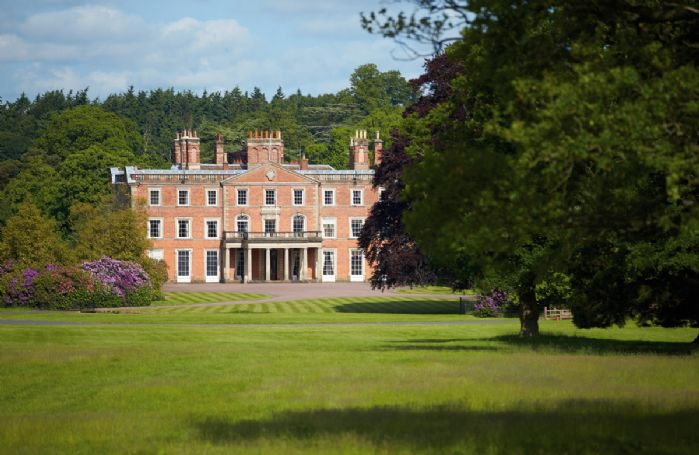The Main House at Weston Park