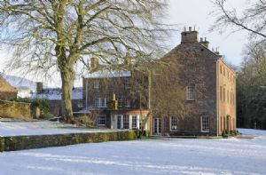 Melmerby Hall in the snow