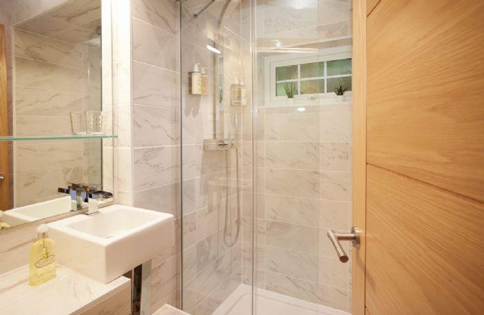 Ground floor: Separate family shower room