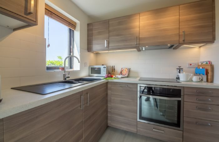 Ground floor: Well equipped, modern kitchen