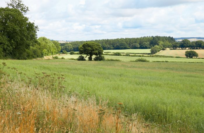 The Pavilion has unrivalled views of the beautiful rolling countryside