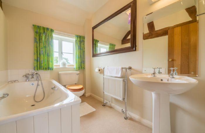 First floor:  Bathroom in House