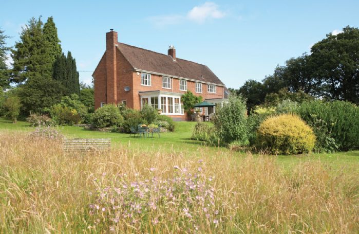 Situated on the side of the Long Mynd, this luxury self catering rental enjoys stunning views over the surrounding hills